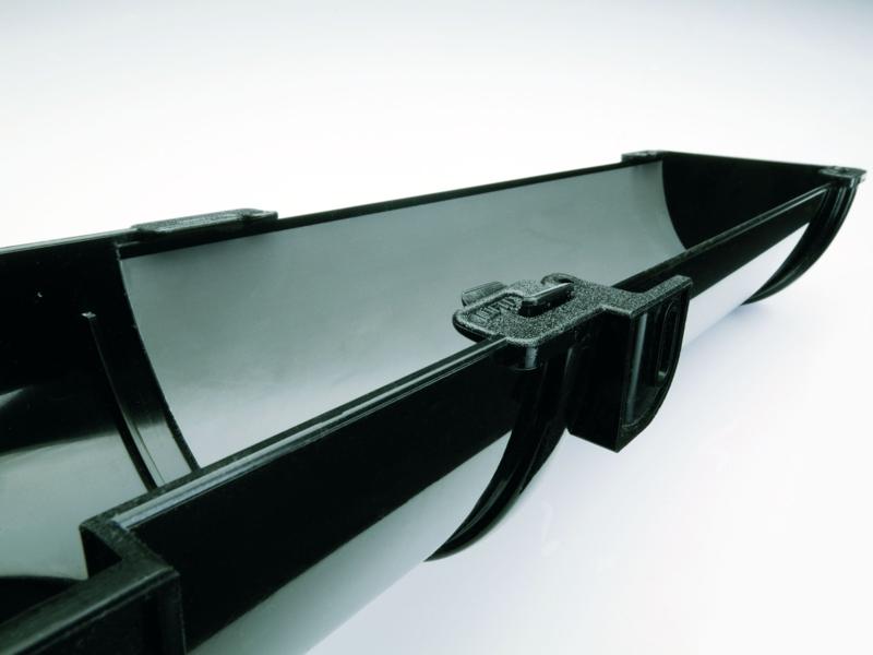 DEEPFLOW чорного кольору (Англія) - подовжена заглушка