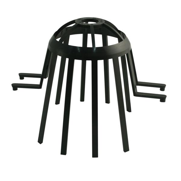 """Затримувач листя для воронки (""""павук"""") пластиковий D=75-105мм"""
