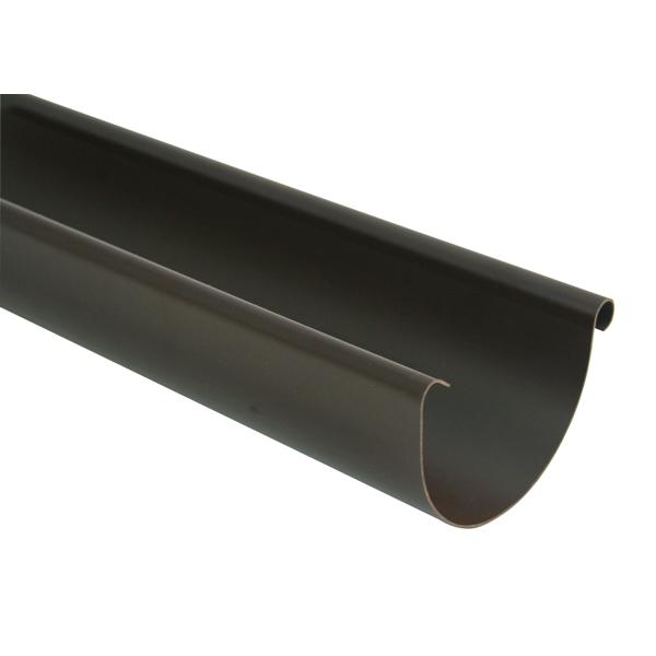 Ринва 125мм, довжина 4м коричневий (RAL 8019)
