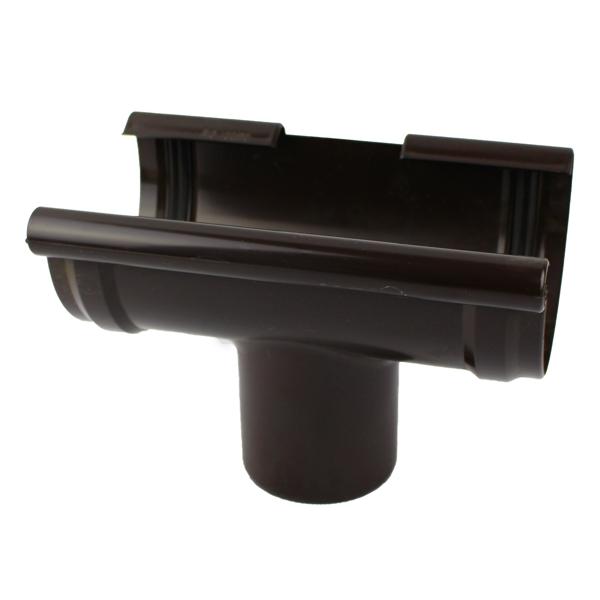 Воронка 125х105мм коричневий (RAL 8019)